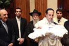 No Berit Milá do filho de Beny Chalom