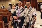 No bar mitsvá de Israel Harari