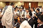 No Bar Mitsvá de Israel Edgard Chouveke